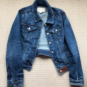 Barely used anthropologie denim jacket by Pilcro